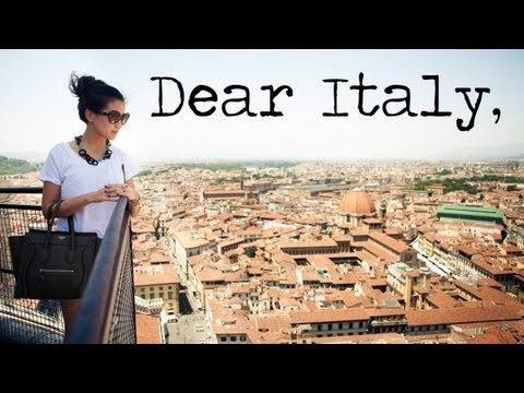 Italy: A Love Letter