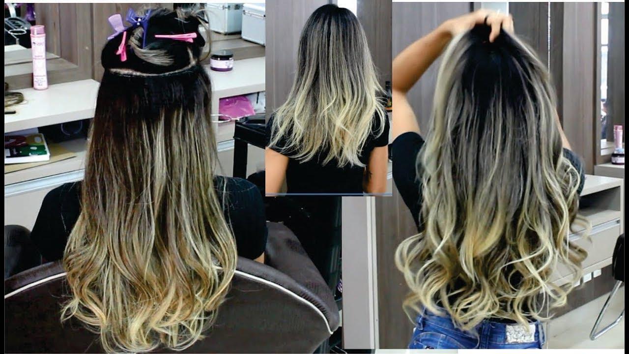 Resultado de imagem para Extensões de cabelo pré-colada