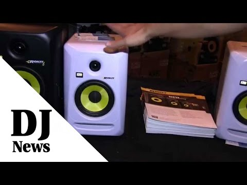 #KRKsys Reference Monitors, Subwoofer and Headphones from #DJExpo2015