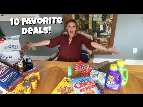 10 FAVORITE Deals from 4 DIFFERENT STORES | Deal Shopping with Collin