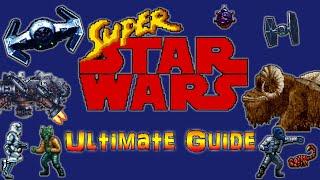 #StarWars #SNES #RetroGamingHistory #Letsplay Super Star Wars SNES - Retrospective + Guide!