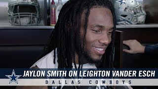 Video Jaylon Smith: Proud of Dallas Cowboys Rookie Leighton Vander Esch | Dallas Cowboys 2018 download MP3, 3GP, MP4, WEBM, AVI, FLV November 2018