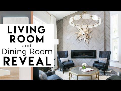 Living Room, Dining Room Reveal   Interior Design