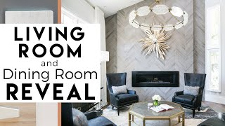 Interior Design | Del Mar Reveal #2 | Living Room & Dining Room