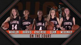 Stoughton High Girls Basketball vs Sharon (2-13-18)