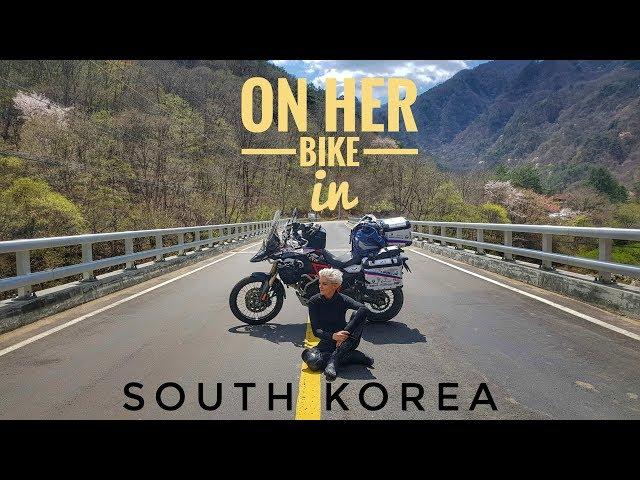 South Korea. On Her Bike Around the World. Episode 1