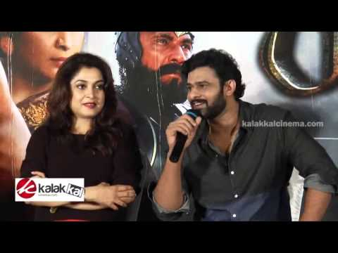 Baahubali Movie Team Chat With Press