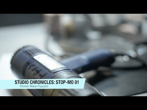 Studio Chronicles: Stop-Motion 01 - Worker Make Puppets