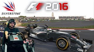 Гран-при Великобритании (Silverstone) за McLaren-Honda F1 2016 на руле Fanatec ClubSport