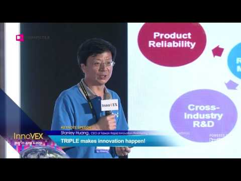 2016 InnoVEX Pi Stage-Product Demo and Keynote Speech by TRIPLE and TIEC