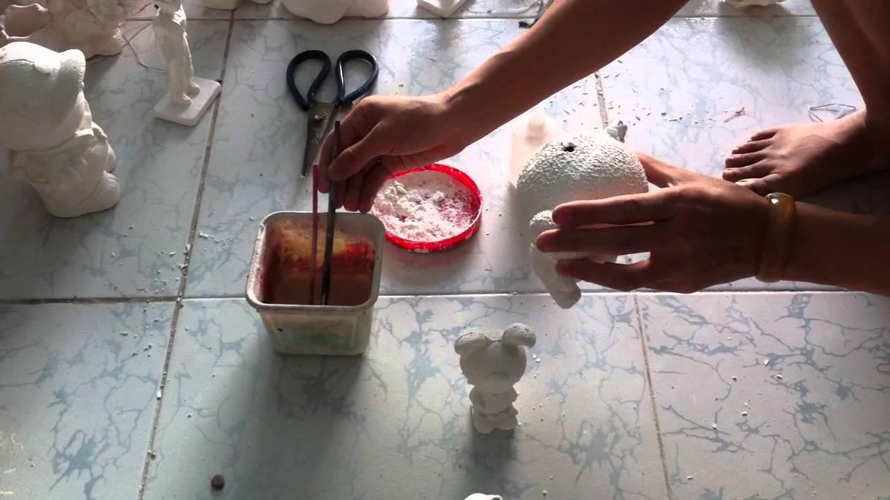 Hướng dẫn sữa lỗi tượng tô màu thạch cao – TÔ TƯỢNG VĨNH PHÁT – Lee Thái Sơn