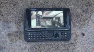 Nokia N900 Stress Test - Part Five - Water Test!