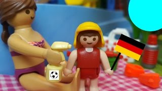 EM 2016 Playmobil Film deutsch Public-Viewing und Spaß im Aquapark♡