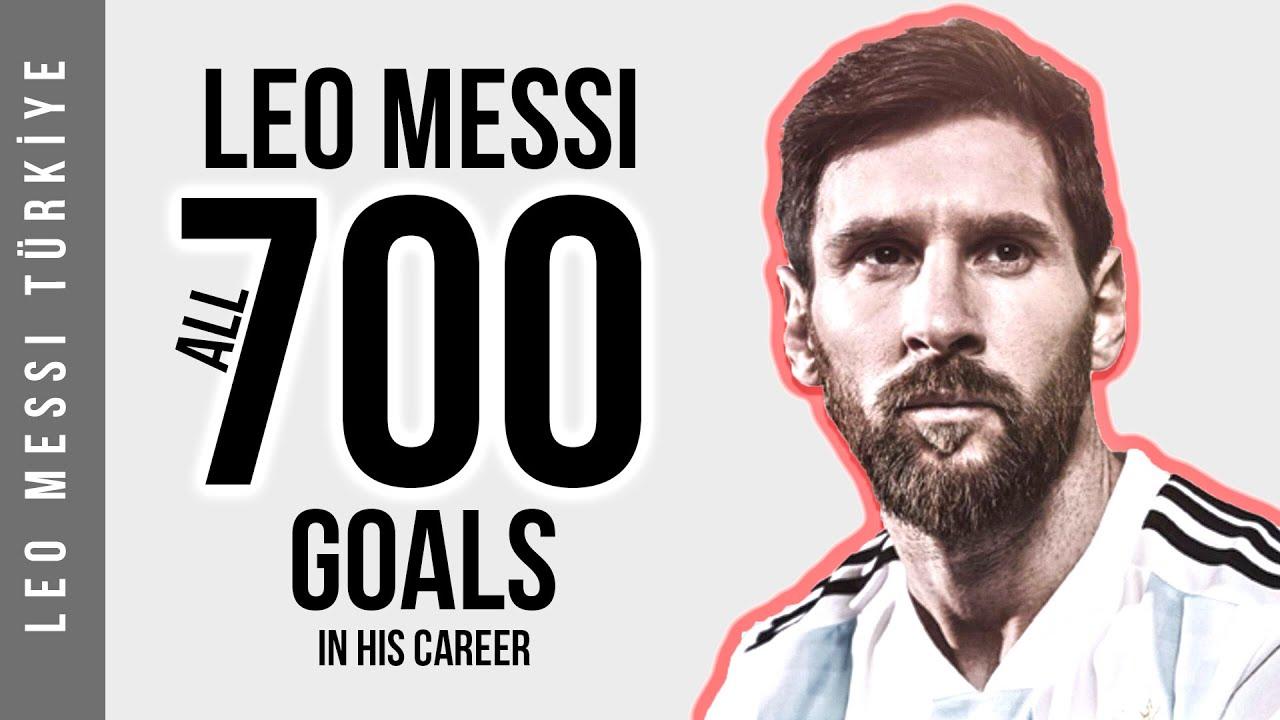 Lionel Messi'nin - Kariyerinde Attığı 700 Golün Tamamı | HD
