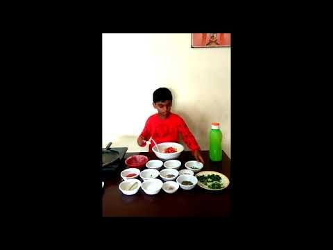 Eggless Omelet by Vikrant - Awesome Chef Kids Cookery Contest