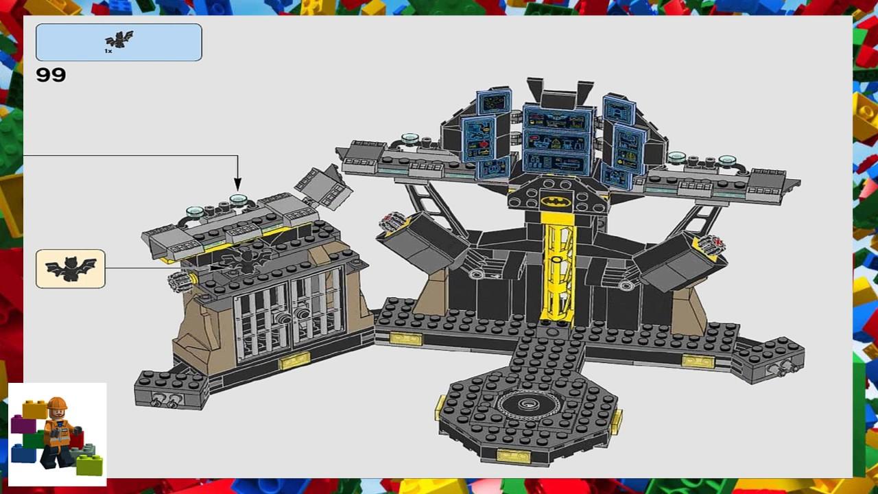LEGO instructions - The Batman Movie - 70909 - Batcave ...