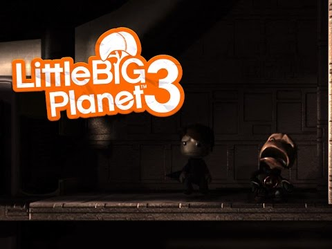 [Little Big Planet 3] SCI FI HORROR Levels Funny Moments!