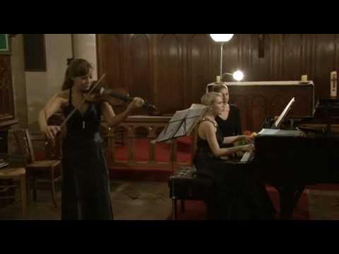 Sophie Moser et Katja Huhn play Furtwängler