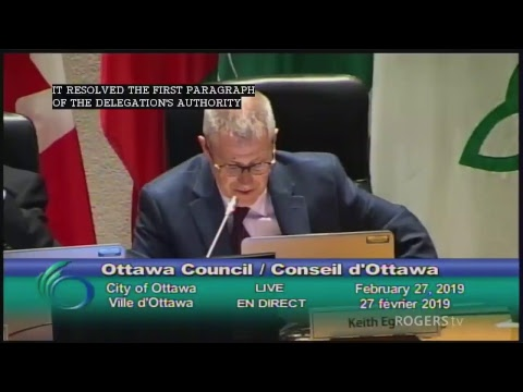 Ottawa City Council Live Stream