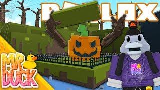 Roblox Build a Boat for Treasure - Fall update, PUMPKIN BOSS!!