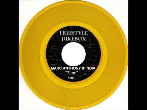 "Marc Anthony & India ""Time"" (1988)"