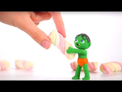 Tommy Builds A House With Candies 💕 Cartoons For Kids