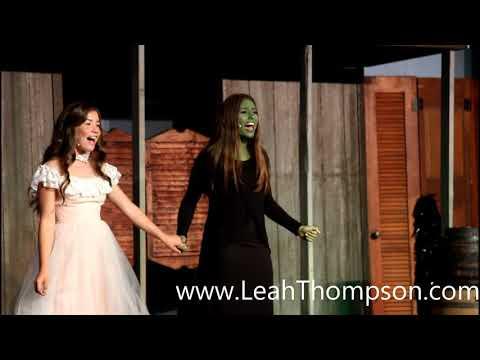 Leah Catherine Thompson and Lexa Thompson singing