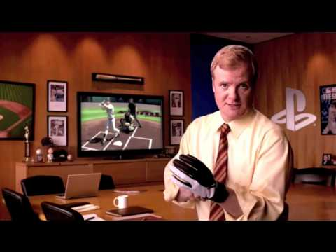 MLB 10 The Show Joe Mauer VS Kevin Butler Commercial