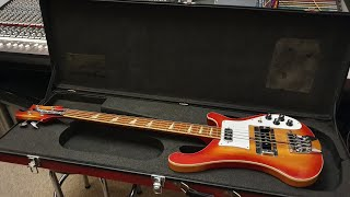 Fake Vintage Rickenbacker 4001 Bass Guitar - Scary Counterfeit Video
