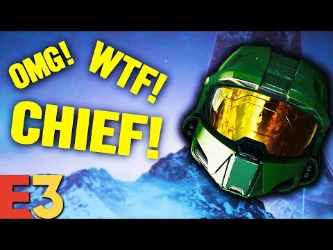 Halo Infinite E3 Reveal - Best Reactions Compilation!
