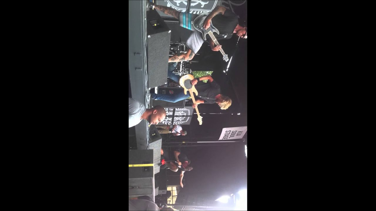 b46d484ce3 Parkway Drive Vans Warped Tour 2014 Montreal - YouTube
