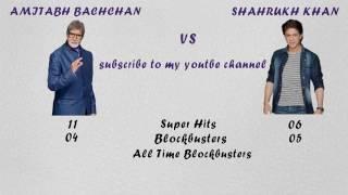 Video Amitabh Bachchan Vs Shahrukh Khan Comparison download MP3, 3GP, MP4, WEBM, AVI, FLV Juni 2018