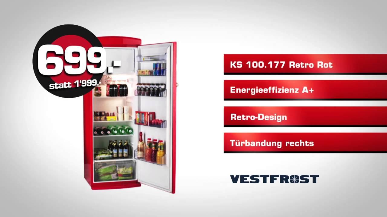 Vestfrost Kühlschrank @nettoshop.ch | KS 100.177 Retro - YouTube