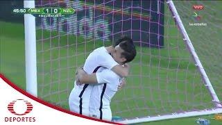 Gol de Marco Rojas | México 1 - 1 Nueva Zelanda | Televisa Deportes