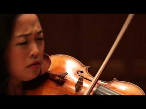 Tommaso Vitali Chaconne - Jessica Lee, violin; Reiko Uchida, piano