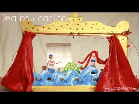 Cómo Hacer Teatro De Cartón Para Niños Con Didongo