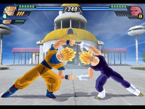 Fusion Goku and Vegeta in Super Saiyan (Dragon Ball Z Budokai Tenkaichi 3 Fusion Mod)