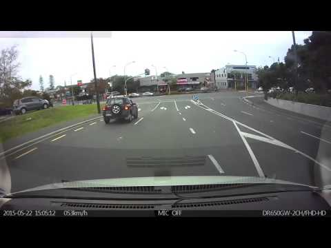 Red Light runner New Lynn Auckland NZ