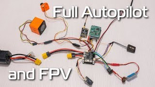 HOW-TO Full Autopilot and FPV system on almost any model plane