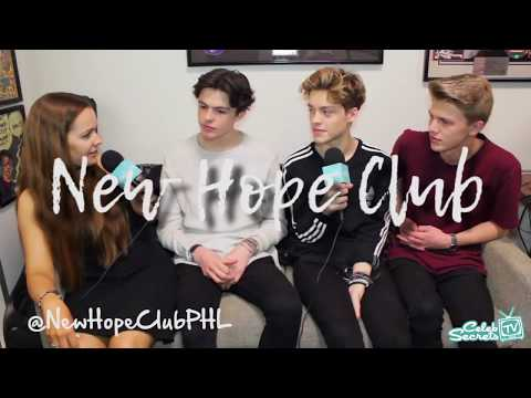 New Hope Club tried to do AMERICAN ACCENTS