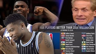 WHERE DOES ZION RANK AMONG NBA PLAYERS RIGHT NOW!? IS HE TOP 20 OR TOP 50?