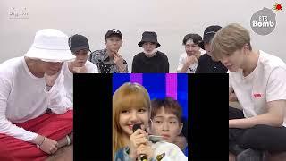 BTS #JUNGKOOK REACTION BLACKPINK #LISA VS BOY | FUNNY #LIZKOOK