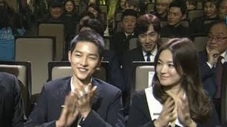 Song Joong Ki & Song Hye Kyo [ENG SUB] Highlights & Speeches @ Korea Popular Culture & Arts Awards thumbnail