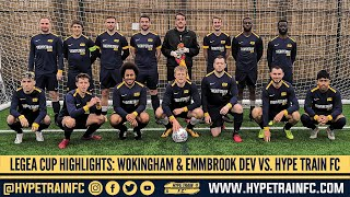 Legea Ultimate XI Challenge Cup (Match 1): Wokingham & Emmbrook FC Development  vs. Hype Train FC