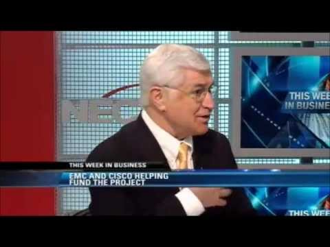 NECN This Week In Business: John Goodhue, executive director of the MGHPCC 2.26.2012