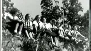 Bund Camp Bergwald, Federal Hill, Rare Silent Films 1930s-Weird NJ