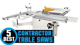 ✅ Contractor Saw: Top Rated Contractor Saw Reviews 2019 | Cheap Contractor Table Saw (Buyers Guide)
