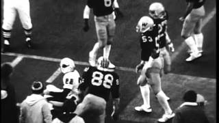 Ball State University Cardinals vs. Western Michigan University Broncos football, 1977
