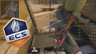 ECS S6 - FaZe vs LDLC - FAZE DOWN?! - Highlights - CS:GO