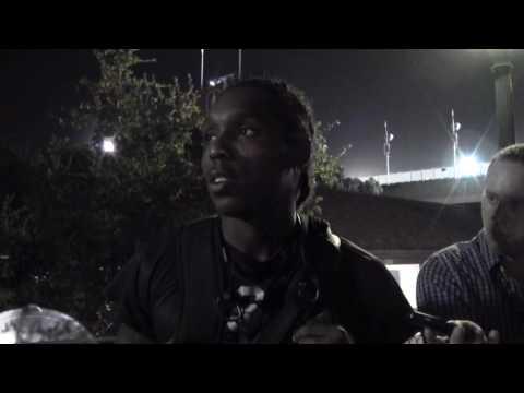 Adoree' Jackson Post-Game Interview - Stanford 9/17/16